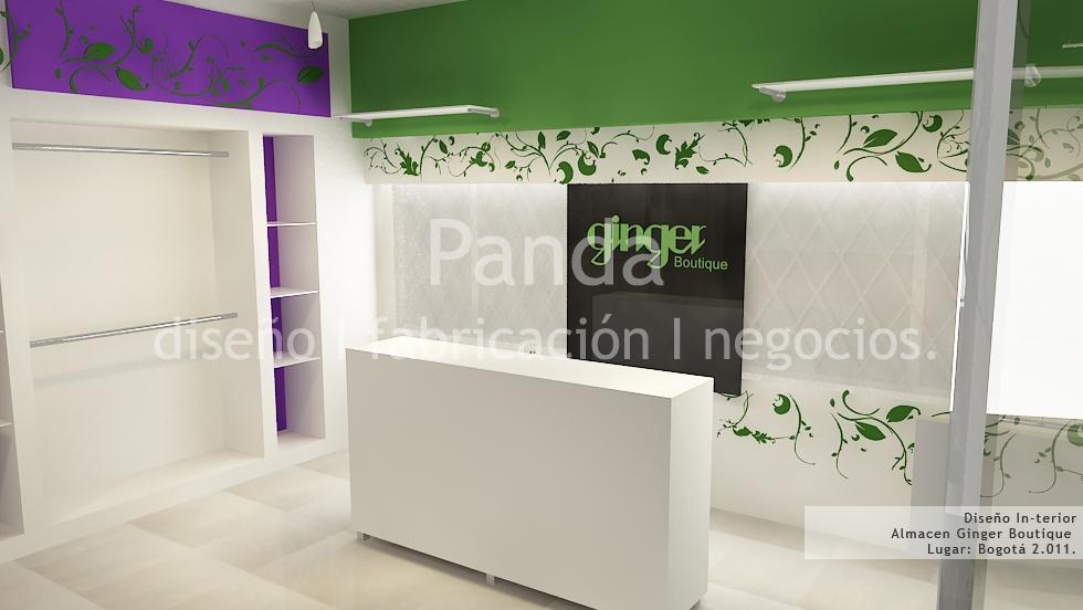 Panda proyectos for Diseno de interiores locales comerciales
